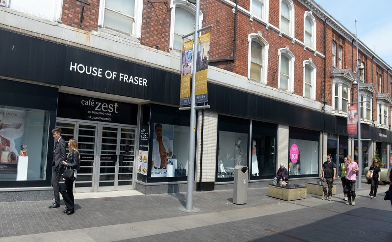 House of Fraser High Street Department Store