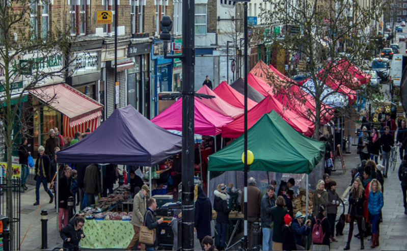 Chatsworth Road Market Hackney London Credit: Kriss Lee