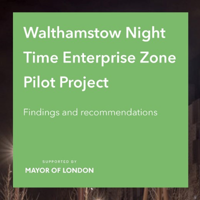 Waltham Forest Council London High Street for London's first Nightime Economy Enterprise Zone