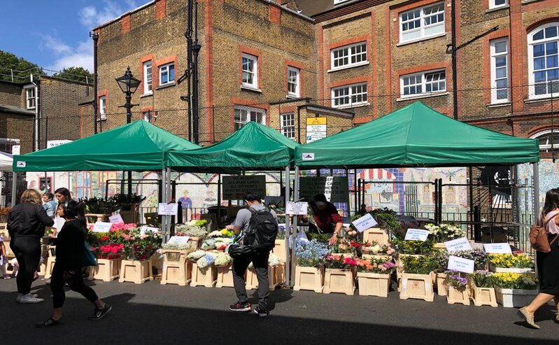 Columbia Road Sunday Flower Market London